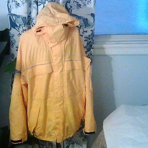 Nautica Yellow Competition Jacket Nylon